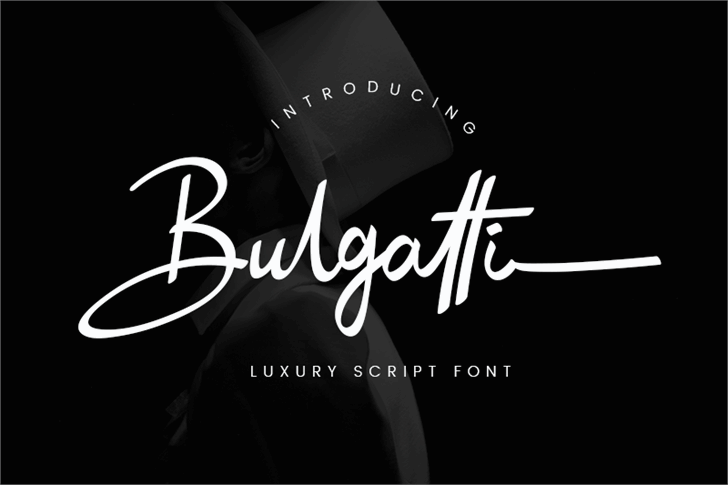 Bulgatti font by Creatype Studio