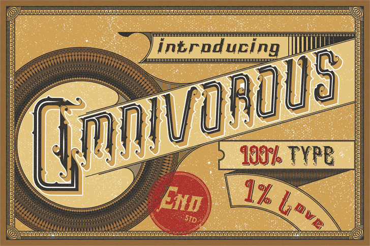 Omnivorous Regular 02 font by Endeavour Studio