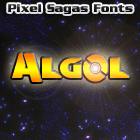 Algol font by Pixel Sagas