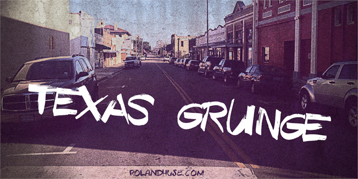 Texas Grunge Demo font by Roland Huse Design