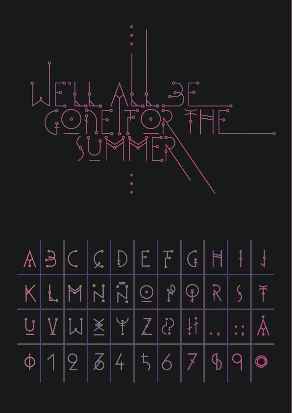 Murmur font by Nina Bero