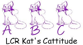 LCR Kat's Cattitude font by LeChefRene