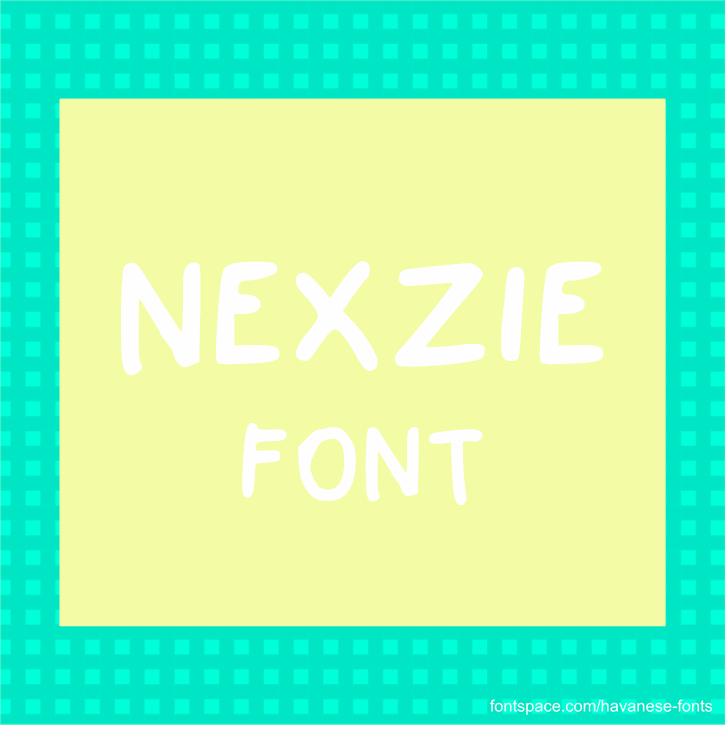 Nexzie Font by Havanese Fonts