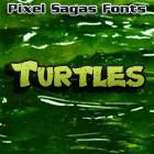 Turtles font by Pixel Sagas