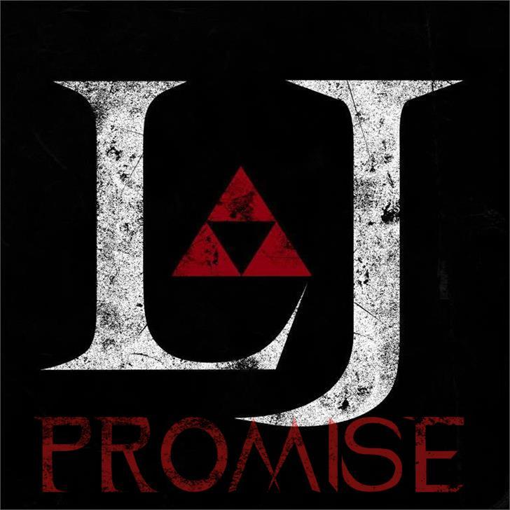 LJ Promise Darck font by LJ Design Studios