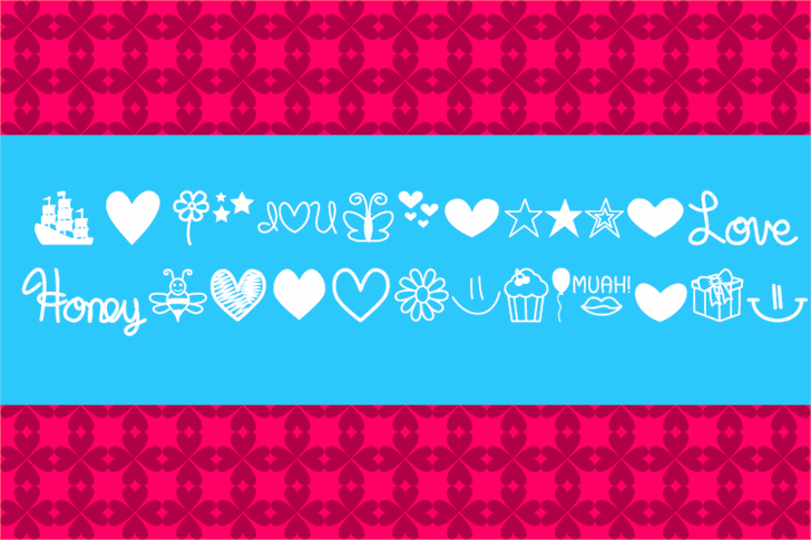 MF Dings  font by Misti's Fonts