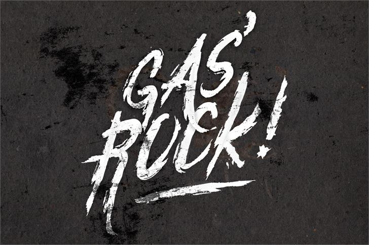 Gasrock font by LeoSupply.co
