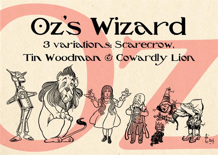 Oz'sWizard font by Mario Arturo