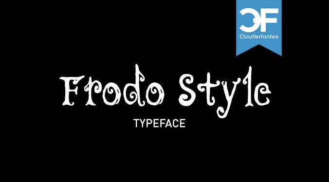 CF Fredo Style font by CloutierFontes
