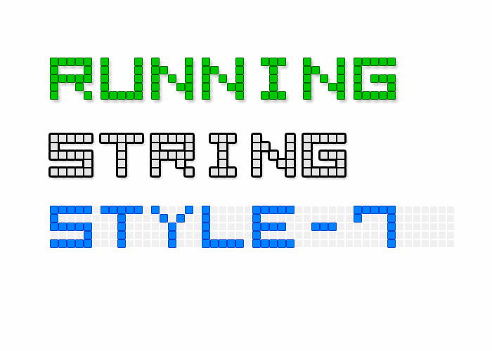 LED Display7 font by Style-7