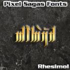 Rhesimol font by Pixel Sagas