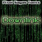 Downlink font by Pixel Sagas