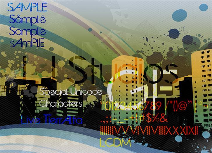 LJ Studios GF font by LJ Design Studios