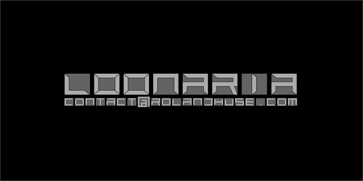 Loonaria font by Roland Huse Design