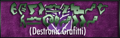 Destronic Grafitti font by Pixel Sagas