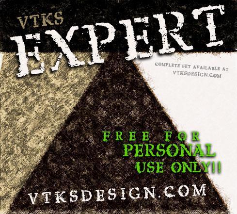vtks expert font by VTKS DESIGN