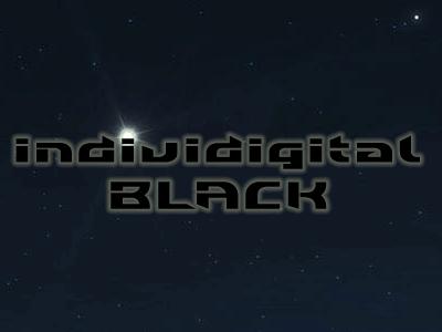 Individigital Black font by Roland Huse Design