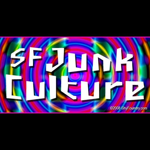 SF Junk Culture font by ShyFoundry