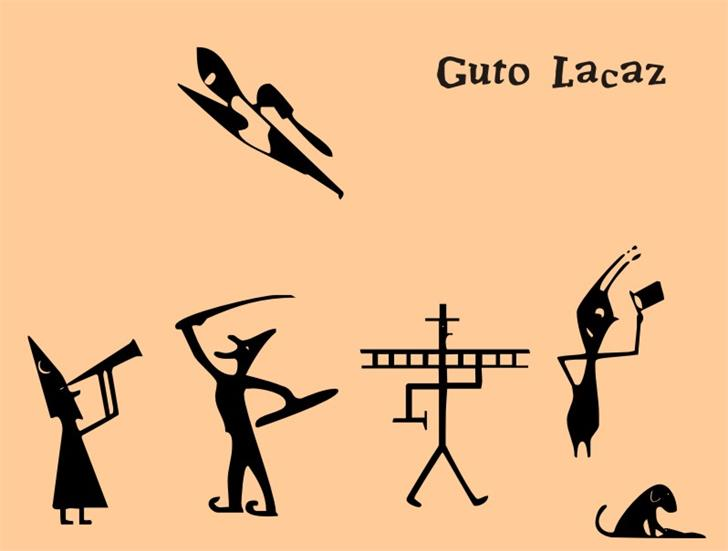 Guto Lacaz PW font by Intellecta Design