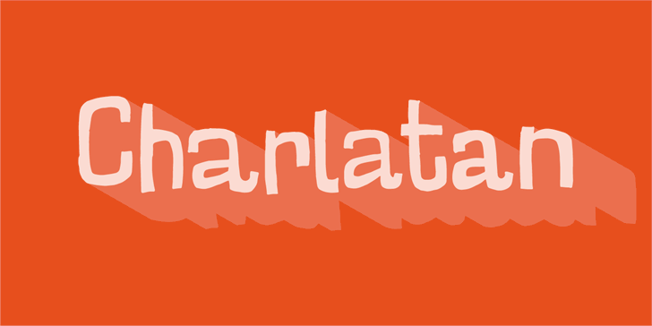 Charlatan DEMO font by pizzadude.dk