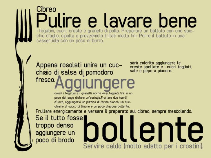cibreo font by Zetafonts