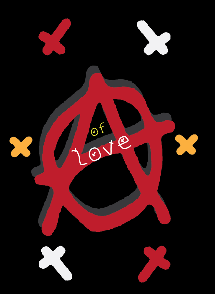 Anarchy of love font by Cé - al