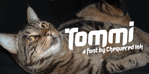 Tommi font by Chequered Ink
