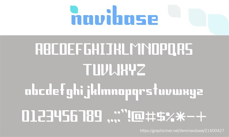 Navibase font by Amitsoni2410