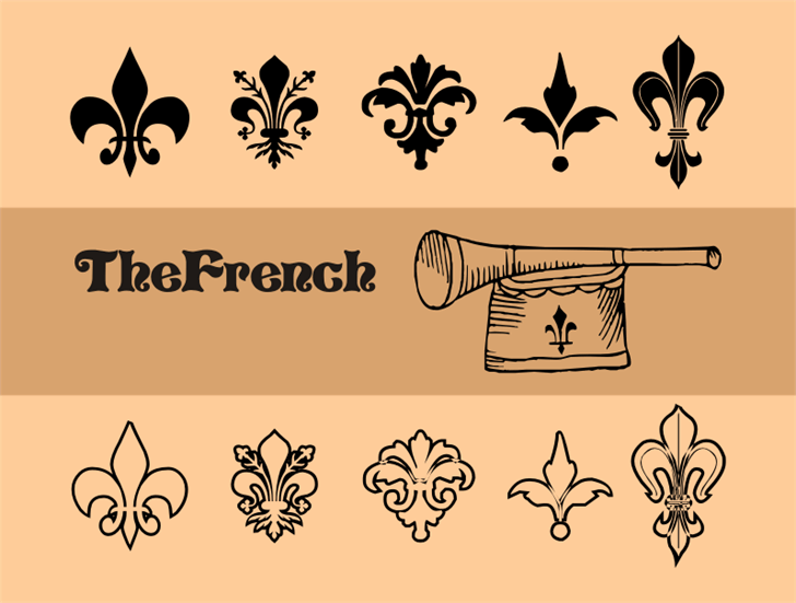 TheFrench font by Intellecta Design