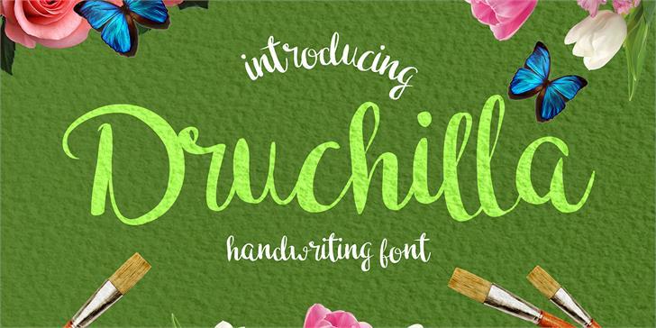 Druchilla font by madeDeduk