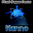 Kanno font by Pixel Sagas