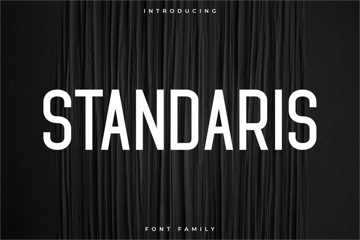 Standaris font by RC graphics