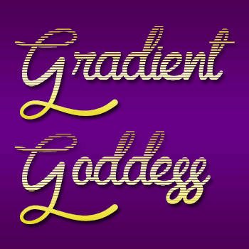 Mf Gradient Goddess font by Misti's Fonts