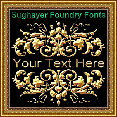 Vintage Elements_010 font by Sughayer Foundry