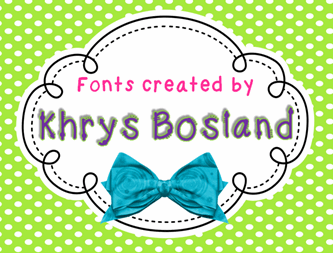 KBChubby font by KhrysKreations