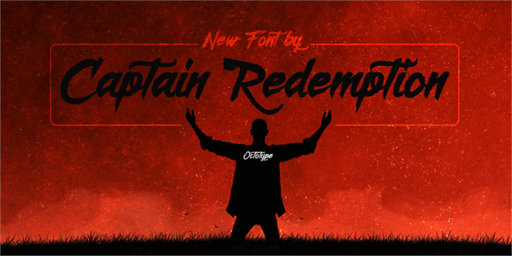 Captain Redemption  font by Octotype