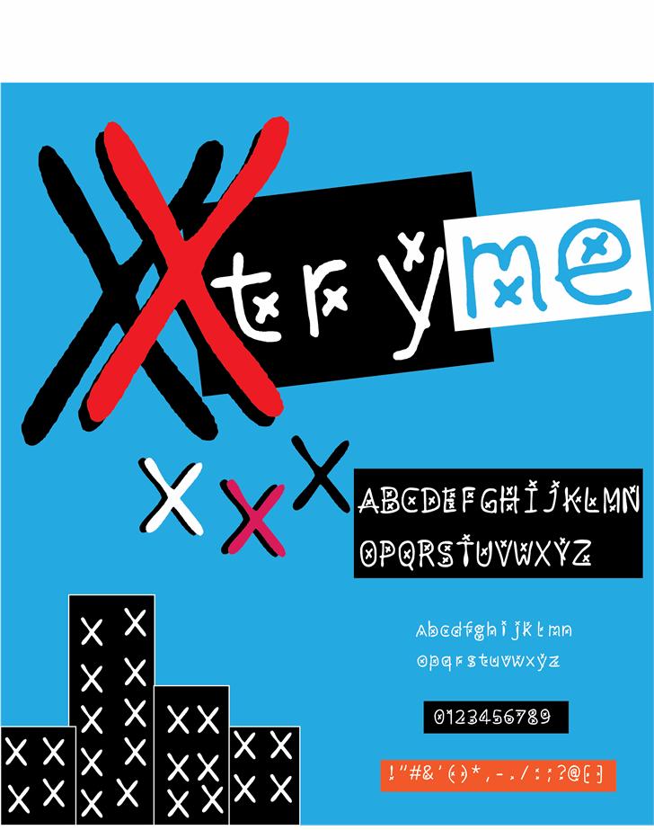 xtryme font by Cé - al