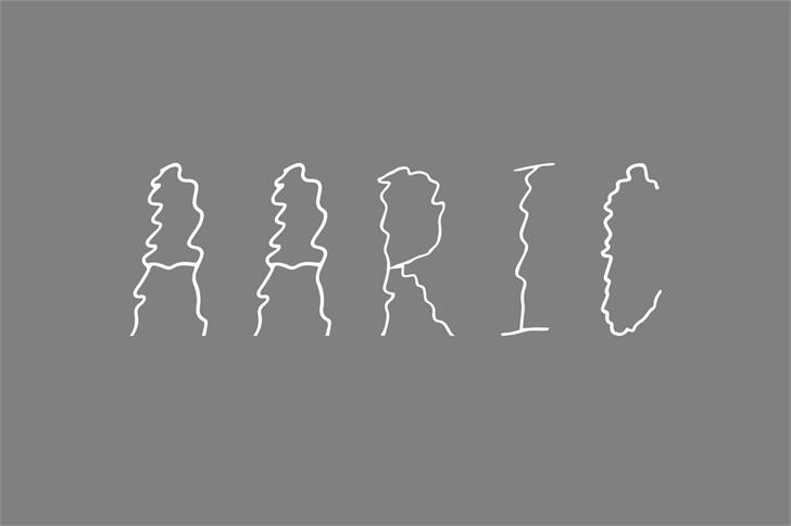 Aaric font by Creativetacos