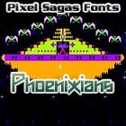 Phoenixians font by Pixel Sagas