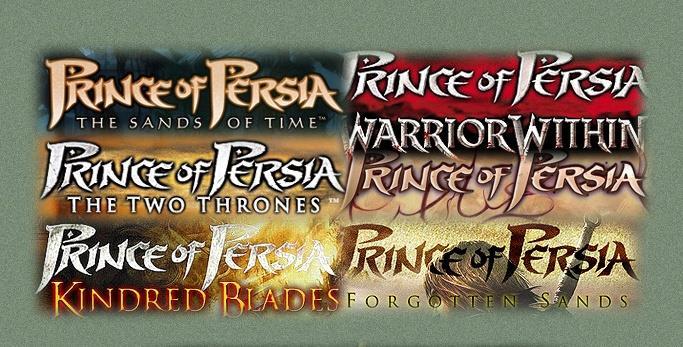PrinceofPersia font by Fereydoun
