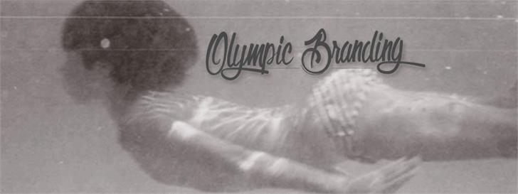 Olympic Branding font by Maellekeita