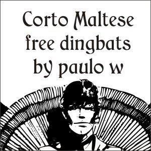 CortoMaltese font by Intellecta Design