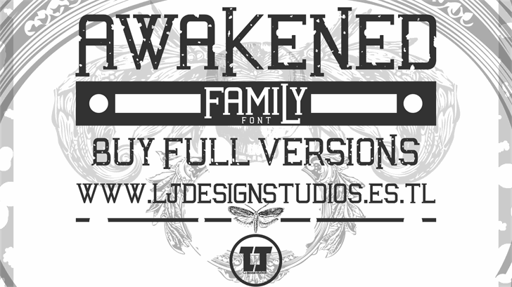 Awakened font by LJ Design Studios