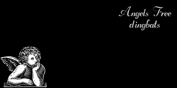 Angels Free font by Intellecta Design