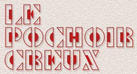 Le Pochoir Creux font by Toto