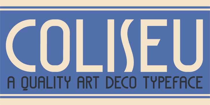 DK Coliseu font by David Kerkhoff