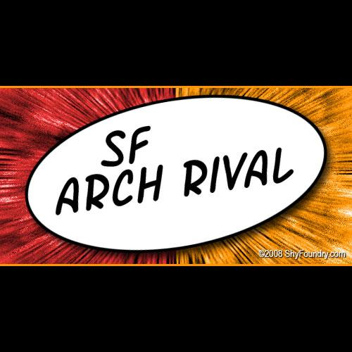 SF Arch Rival font by ShyFoundry