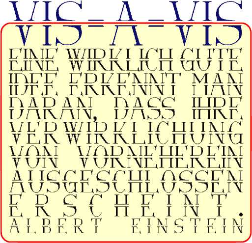 Via-A-Vis font by Peter Wiegel