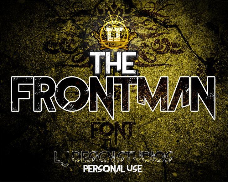 the frontman font by lj design studios fontspace