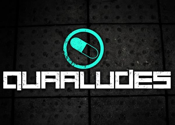 Quaaludes font by Chris Vile